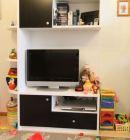 Мебель в гостиную чёрно-белая