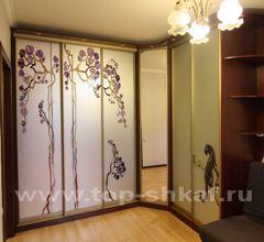 Угловой шкаф от Интерком-мебель