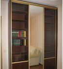 Шкаф-купе в библиотеку