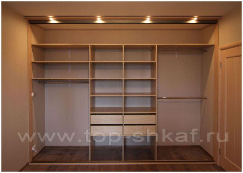встроенные шкафы купе от интерком мебель в москве