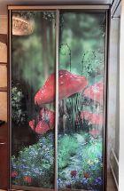 Шкаф-купе с фотофасадом в детскую комнату