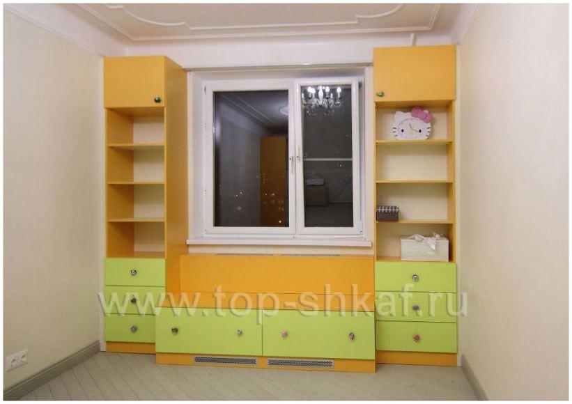 Шкафы в детскую комнату, фото работ, расчёт на сайте от инте.