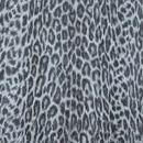 Декоративная кожа Леопард черно-белый