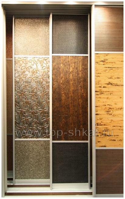 Бамбук, структурный пластик, декоративная кожа, ротанг