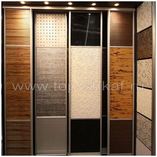 Структурный пластик, декоративная кожа, бамбук